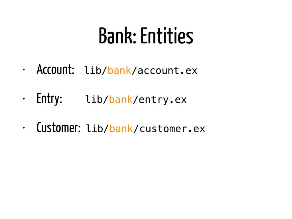 Bank: Entities • Account: lib/bank/account.ex •...