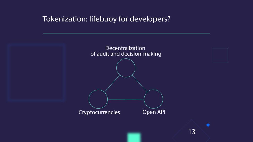 Tokenization: lifebuoy for developers? Decentra...