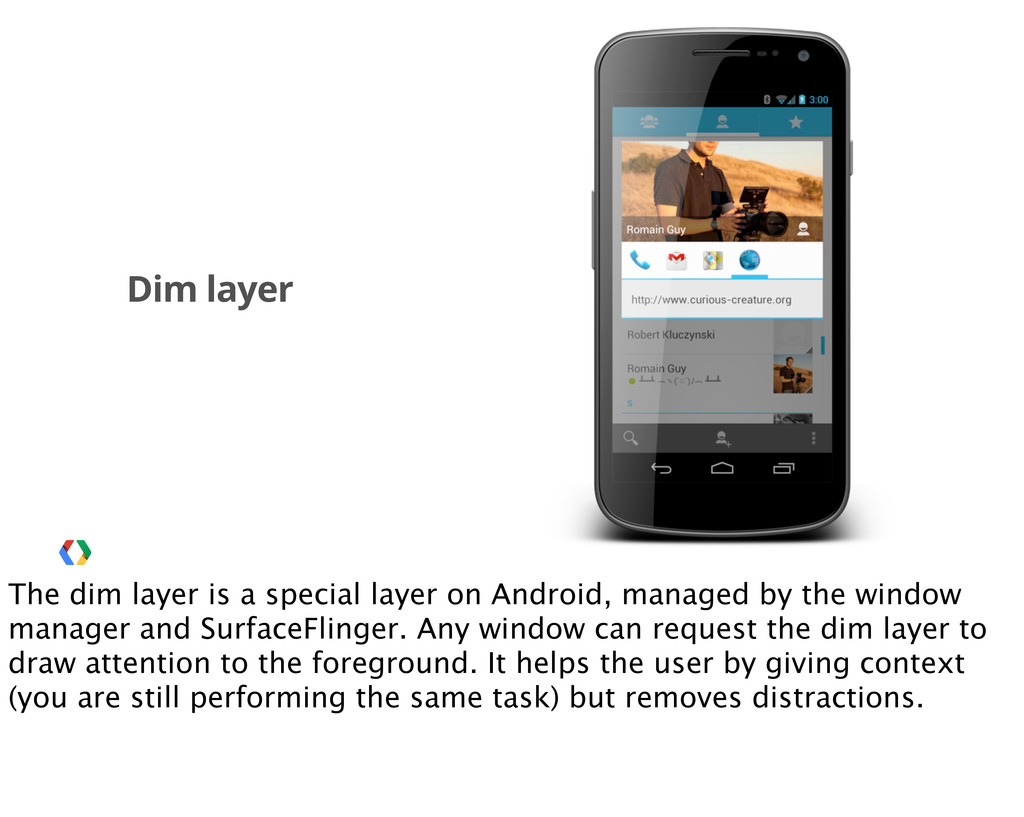 Dim layer The dim layer is a special layer on A...