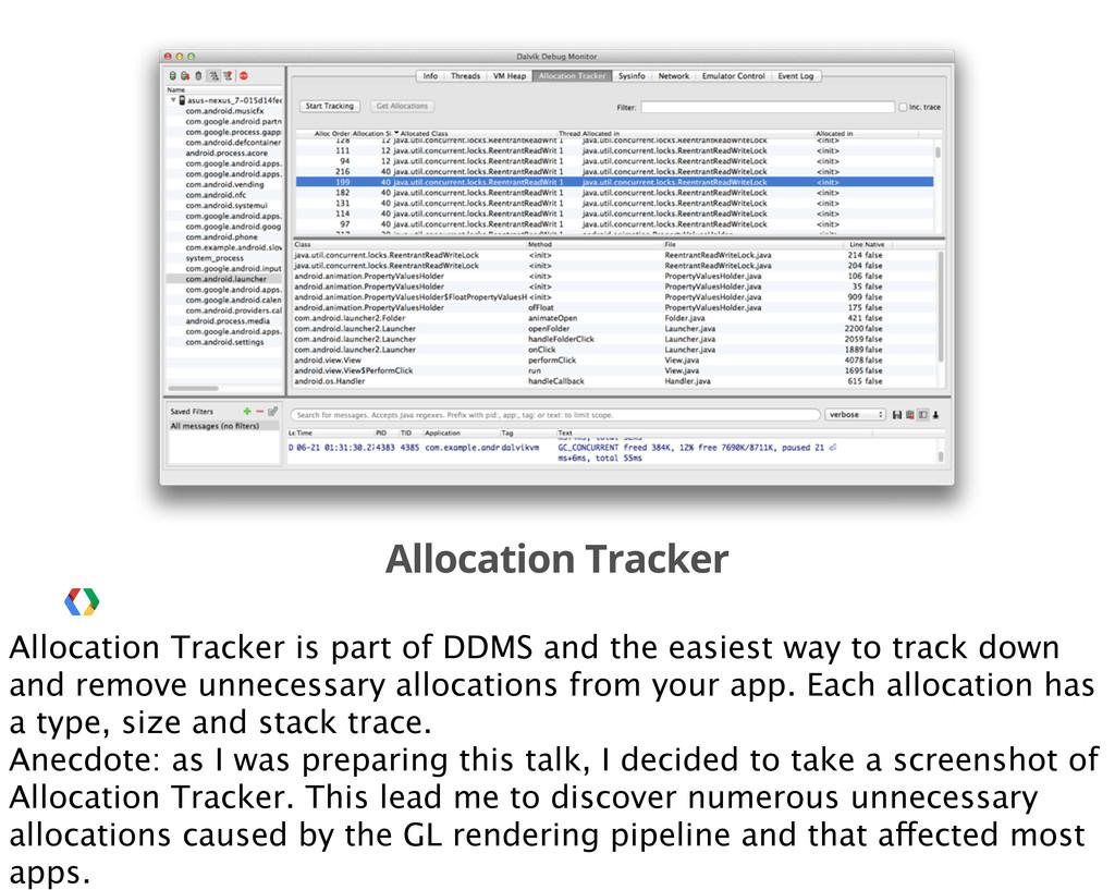 Allocation Tracker Allocation Tracker is part o...