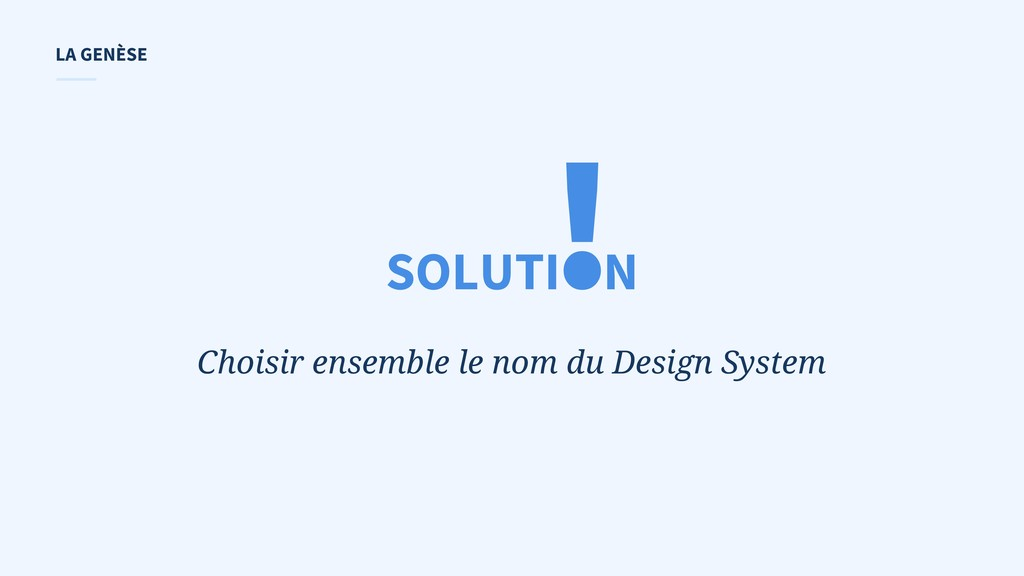 ! Choisir ensemble le nom du Design System SOLU...