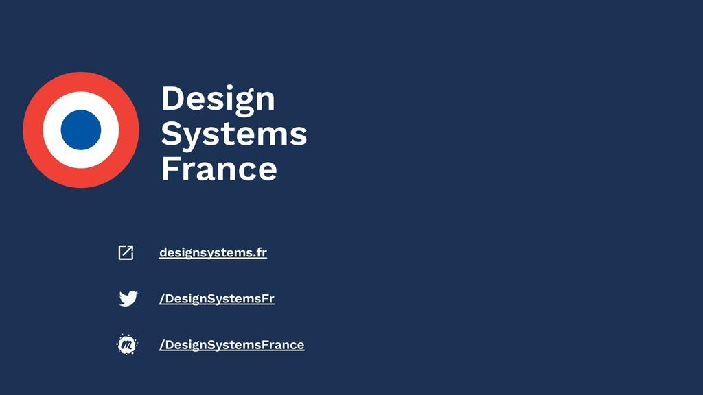 X /DesignSystemsFrance /DesignSystemsFr designs...