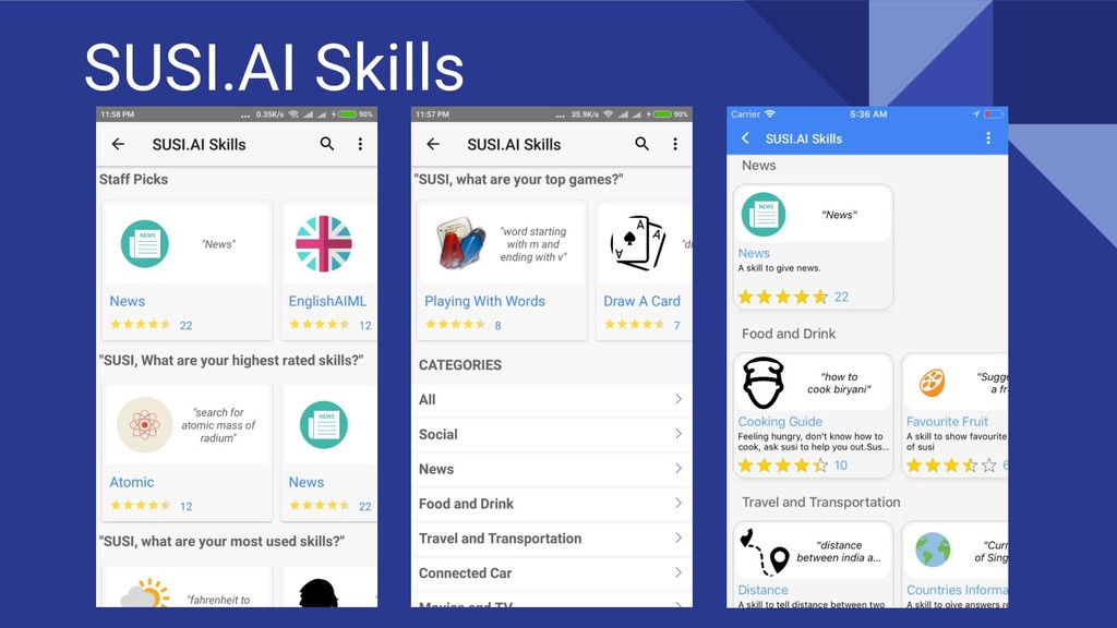 SUSI.AI Skills