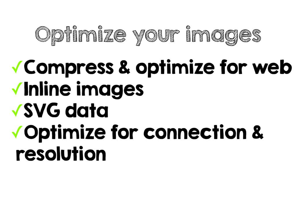 ✓Compress & optimize for web ✓Inline images ✓SV...