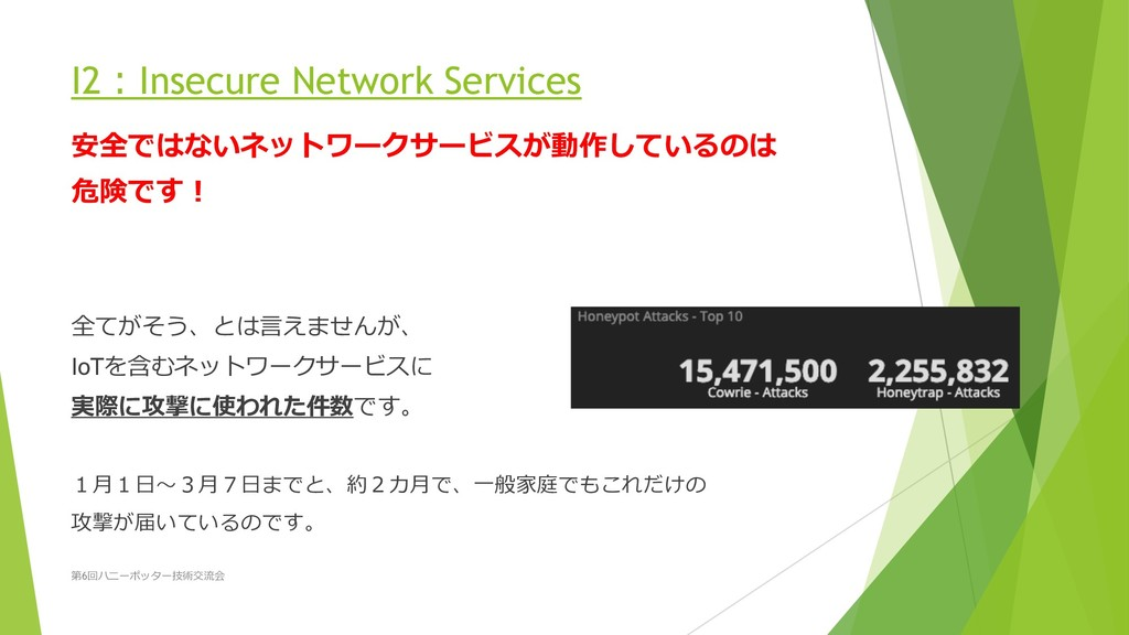 I2Insecure Network Services  ...