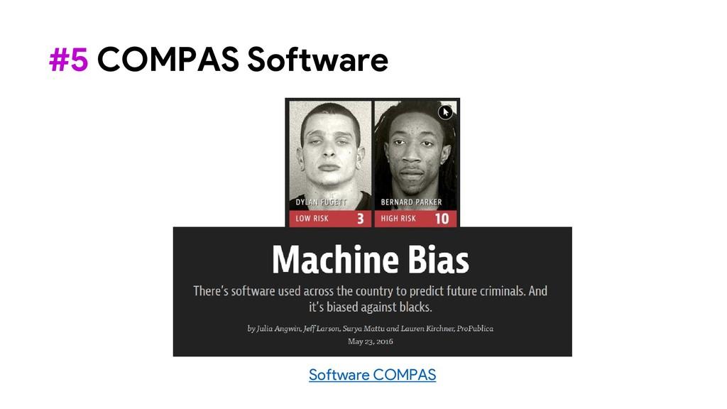 Software COMPAS #5 COMPAS Software