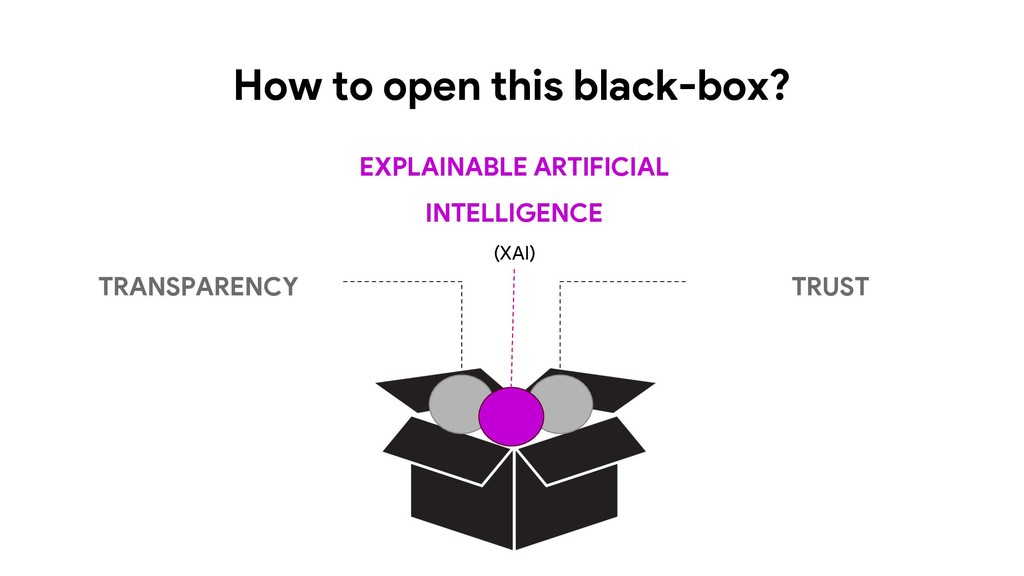 How to open this black-box? TRANSPARENCY EXPLAI...