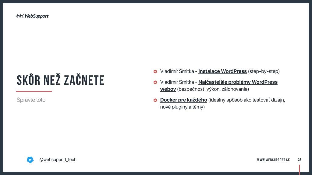 Vladimír Smitka - Instalace WordPress (step-by-...