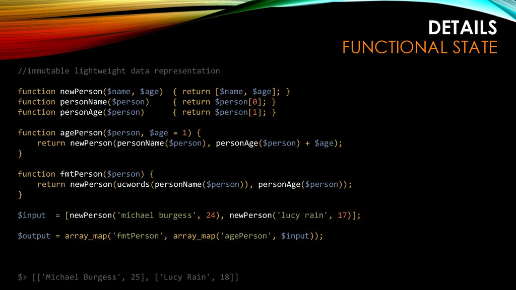 DETAILS FUNCTIONAL STATE //immutable lightweigh...