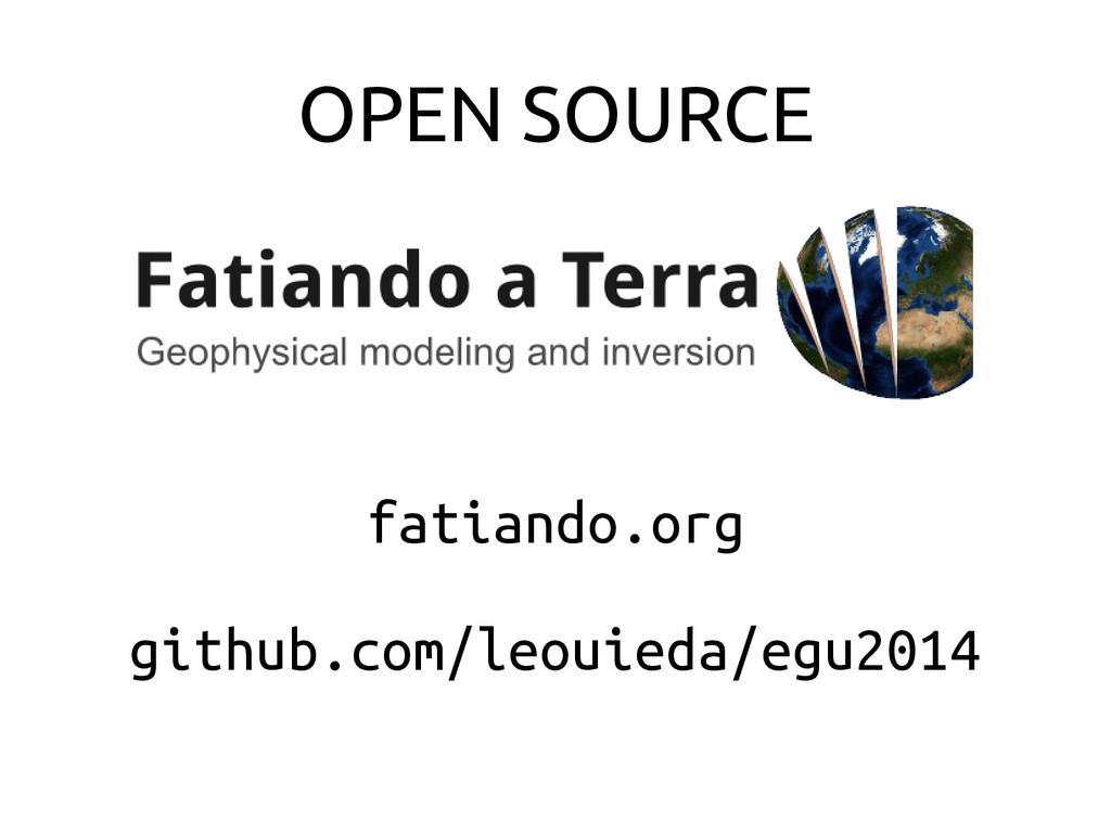OPEN SOURCE fatiando.org github.com/leouieda/eg...