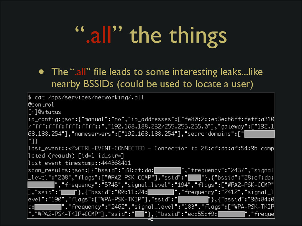 """.all"" the things • The "".all"" file leads to som..."