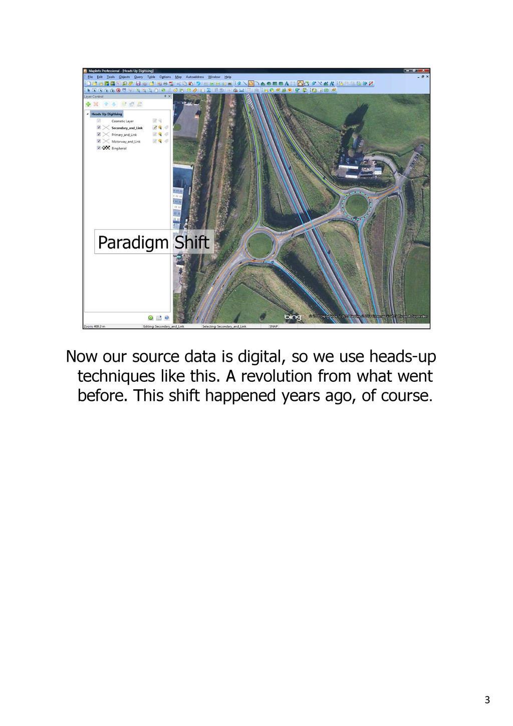 3 Now our source data is digital, so we use hea...