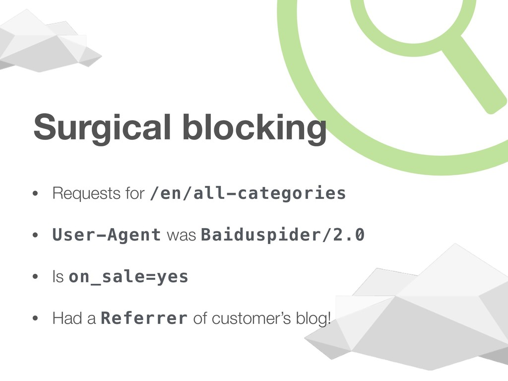 Surgical blocking • Requests for /en/all-catego...