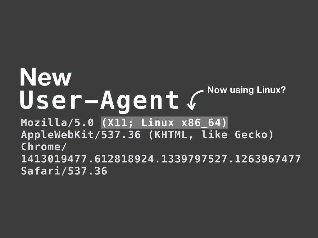 Mozilla/5.0 (X11; Linux x86_64) AppleWebKit/537...