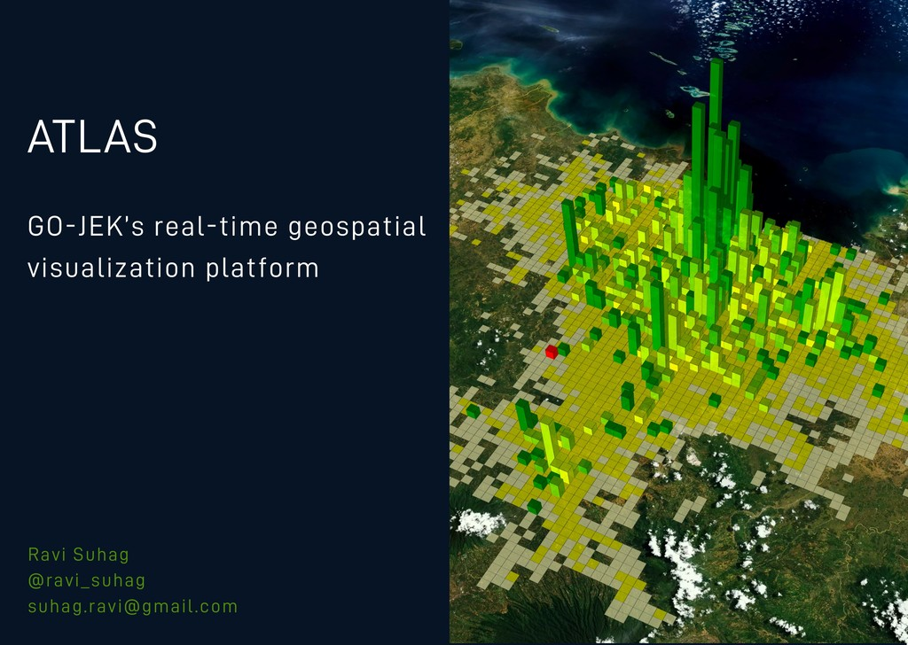 ATLAS GO-JEK's real-time geospatial visualizati...