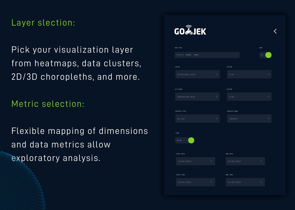 Layer slection: Pick your visualization layer f...