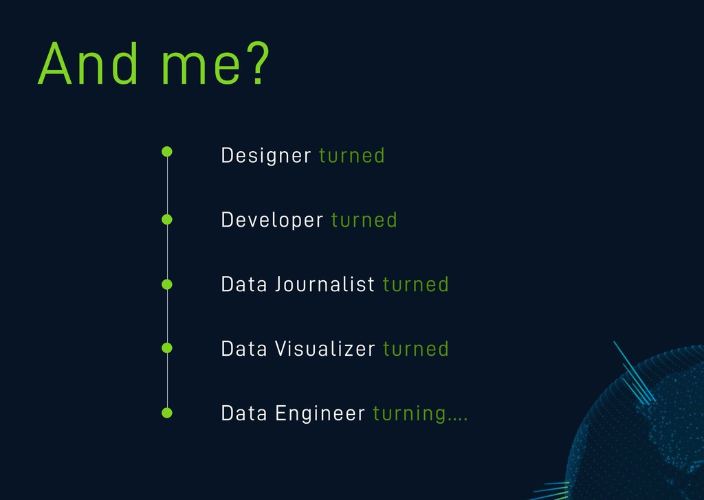 Designer turned Developer turned Data Journalis...