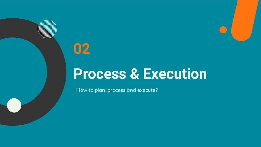 Process & Execution How to plan, process and ex...