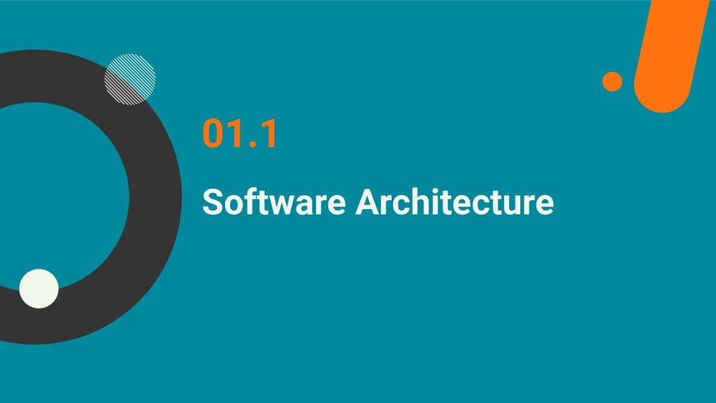 Software Architecture 01.1