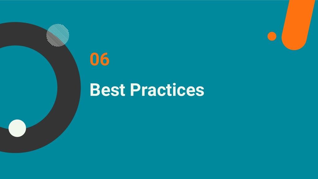 Best Practices 06