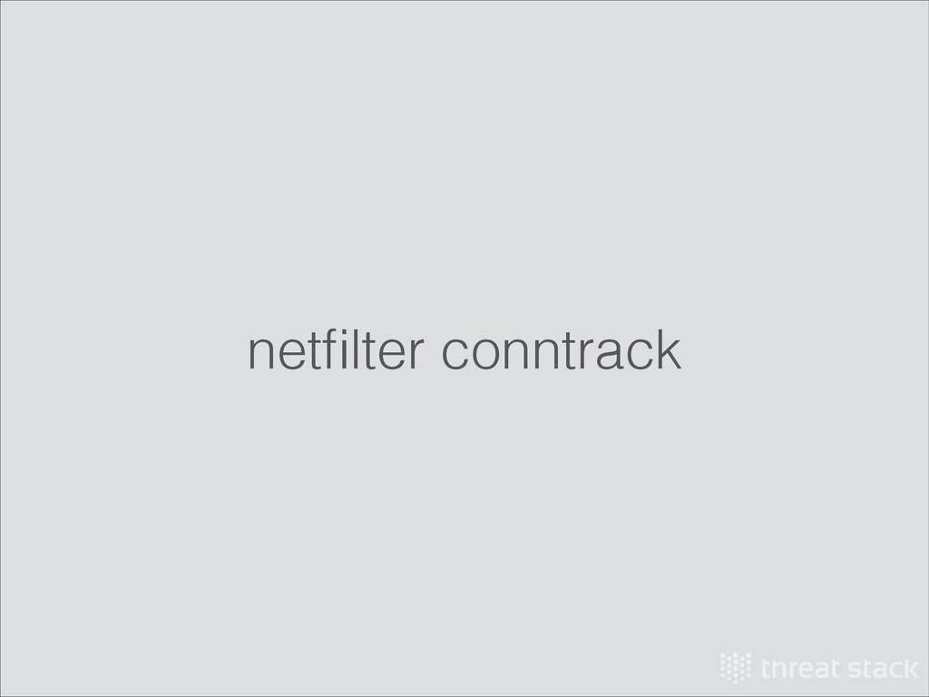 netfilter conntrack
