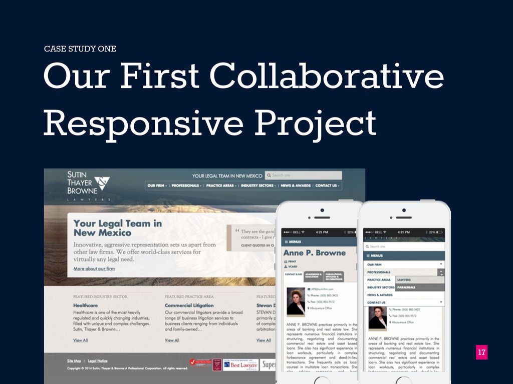 17 Our First Collaborative Responsive Project C...