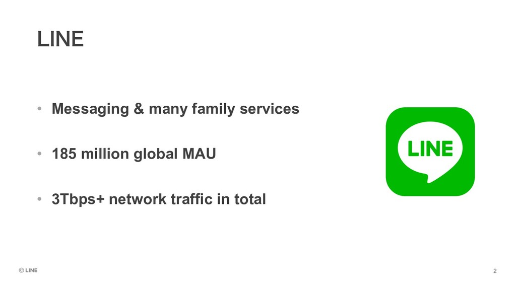 • Messaging & many family services • 185 millio...