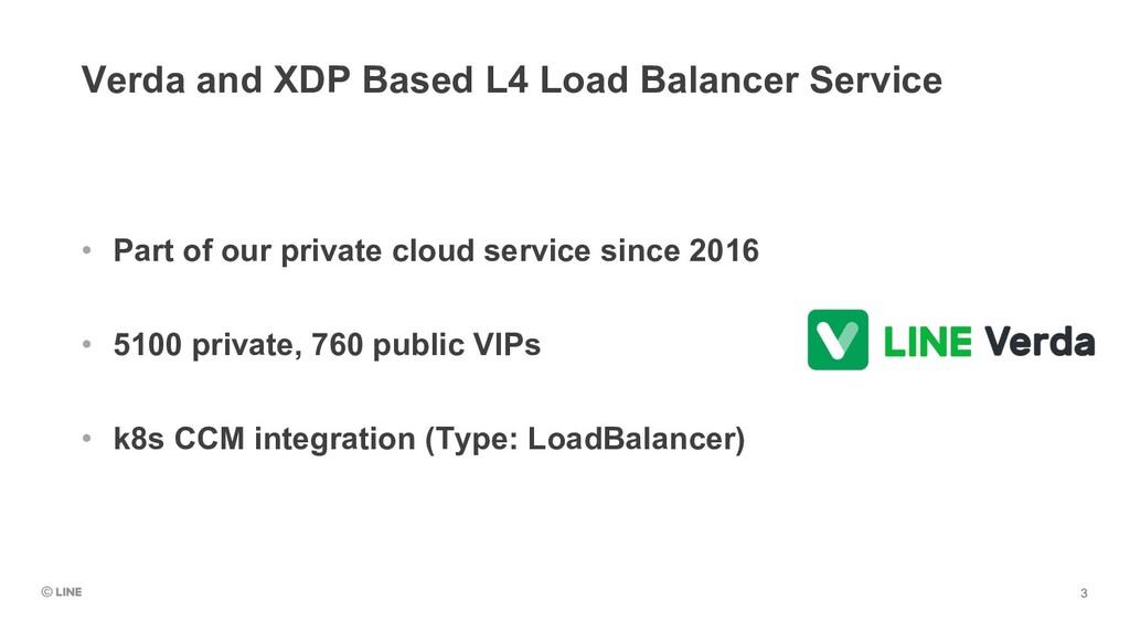 Verda and XDP Based L4 Load Balancer Service • ...