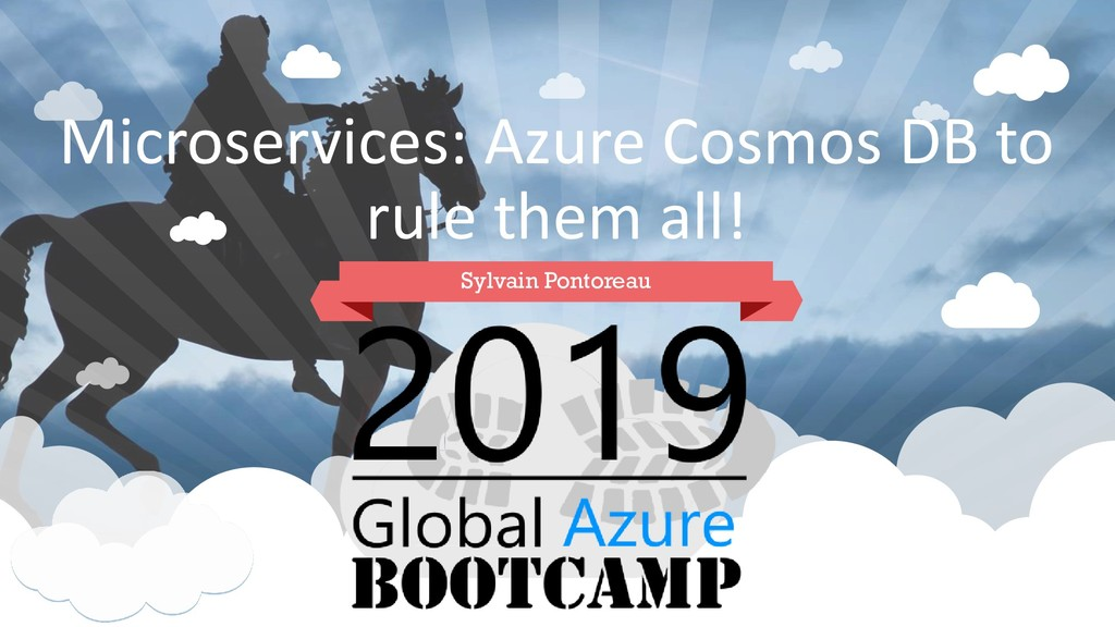 Microservices: Azure Cosmos DB to rule them all...