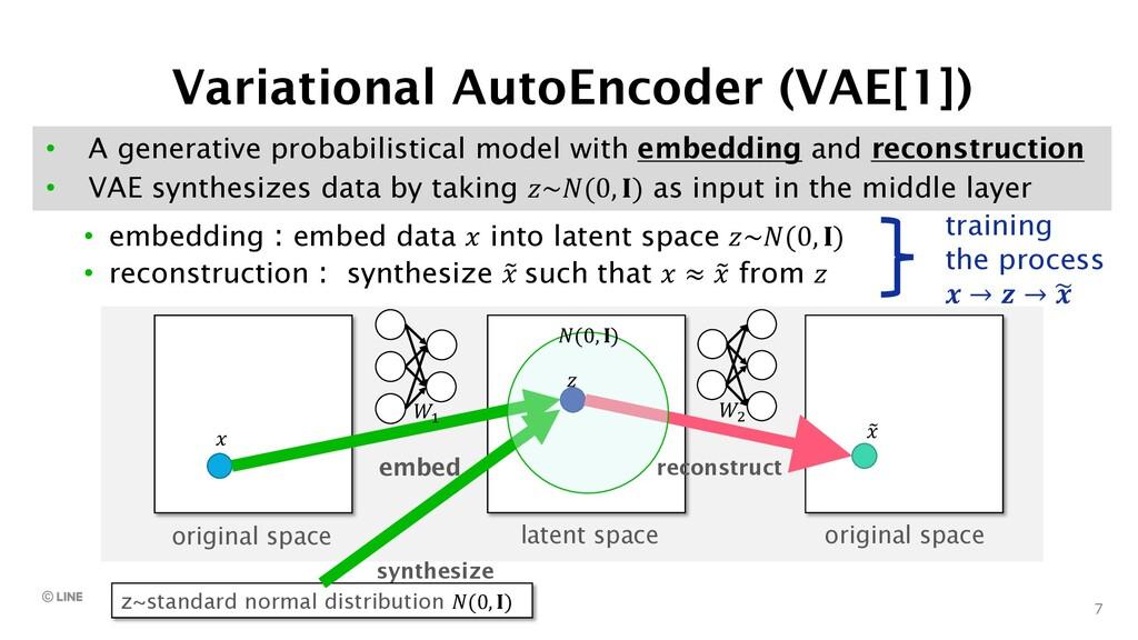7 • A generative probabilistical model with emb...