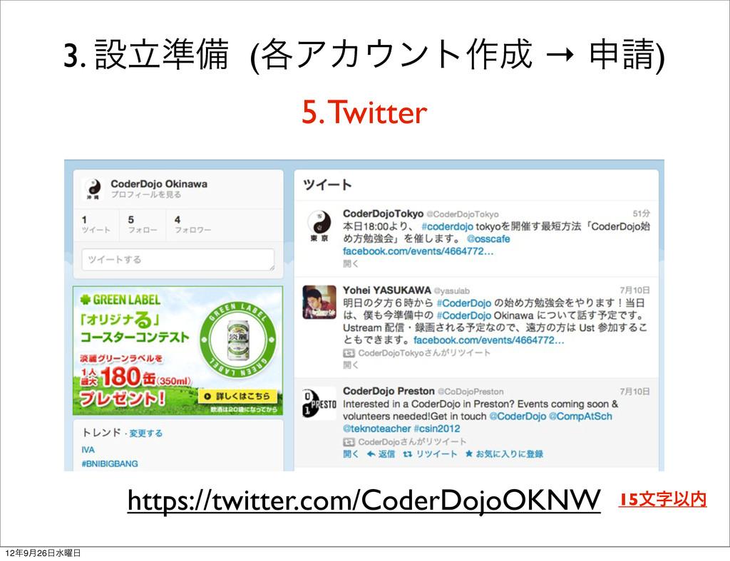 3. ઃཱ४උ (֤ΞΧϯτ࡞ → ਃ) 5. Twitter https://twit...
