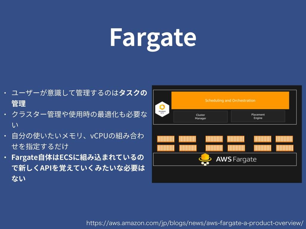 Fargate IUUQTBXTBNB[PODPNKQCMPHTOFXTBX...