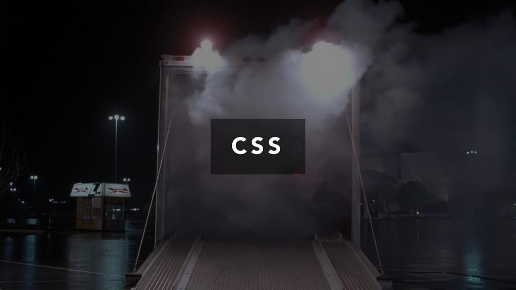 C S S