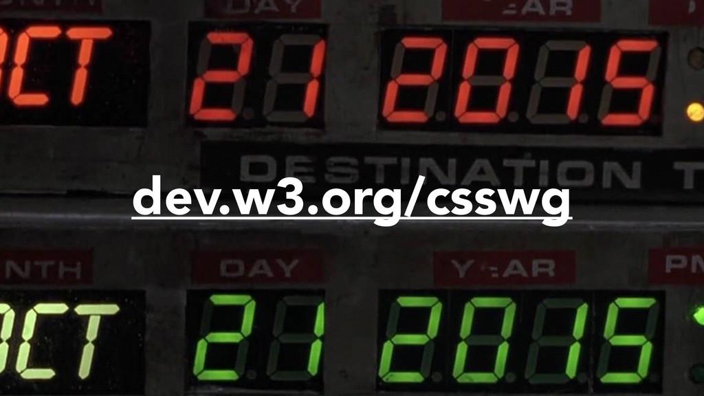 dev.w3.org/csswg