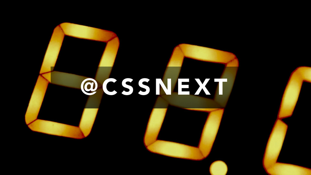 @ C S S N E X T