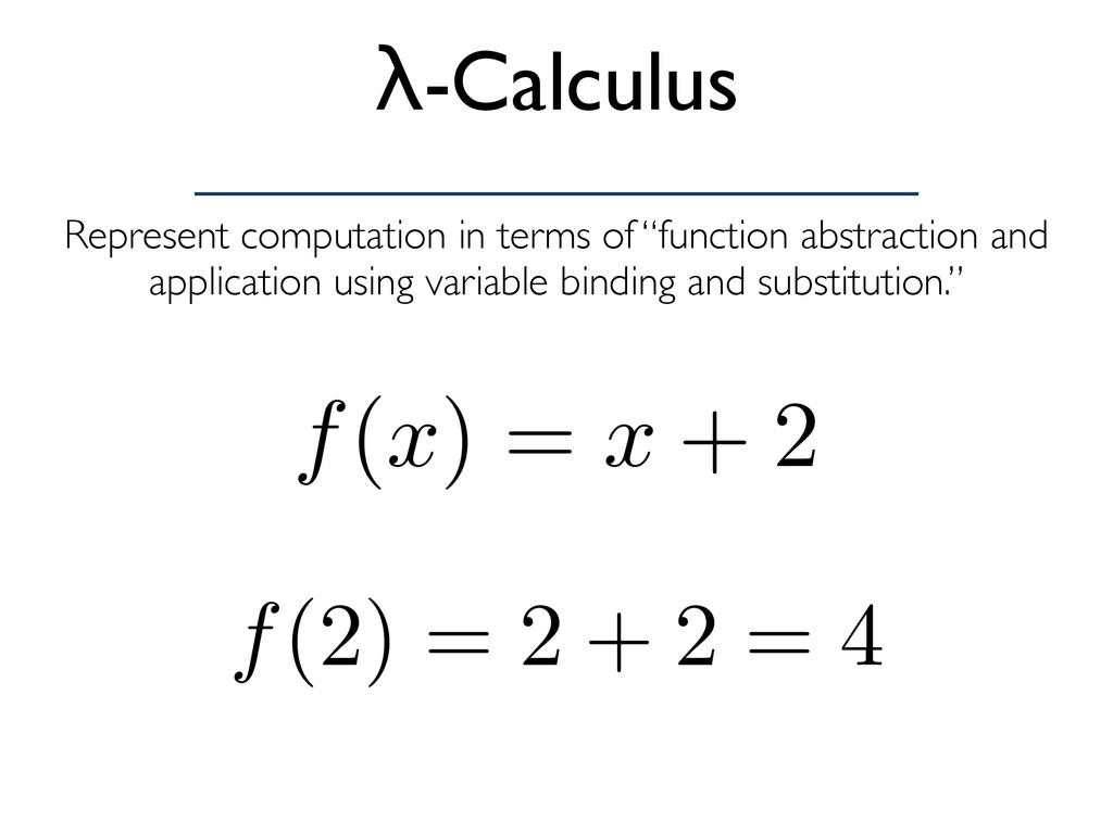 "Represent computation in terms of ""function abs..."