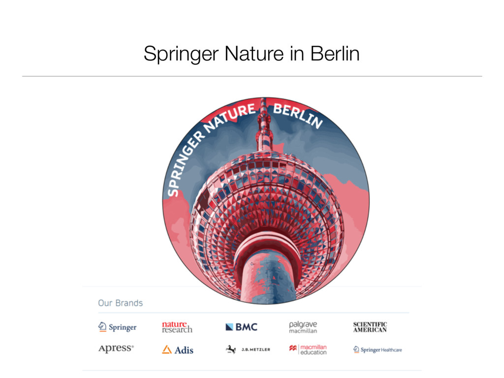 Springer Nature in Berlin