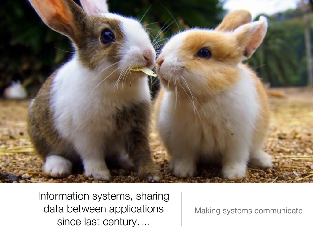 Information systems, sharing data between appli...