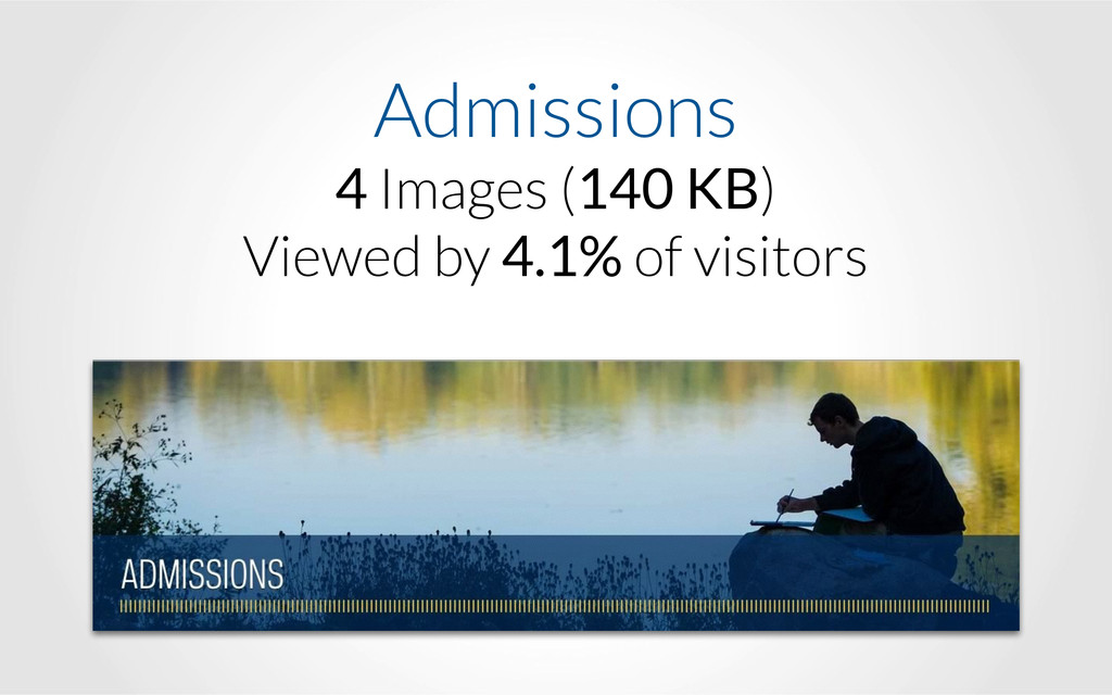 Admissions 4 Images (140 KB) Viewed by 4.1% of...
