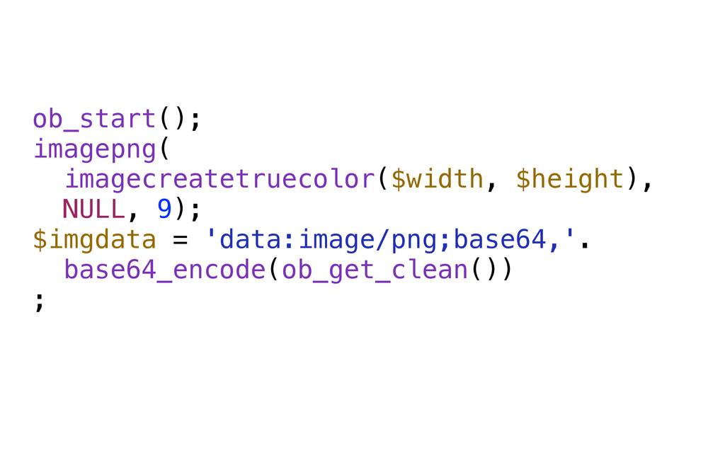 ob_start(); imagepng( imagecreatetruecolor($wi...