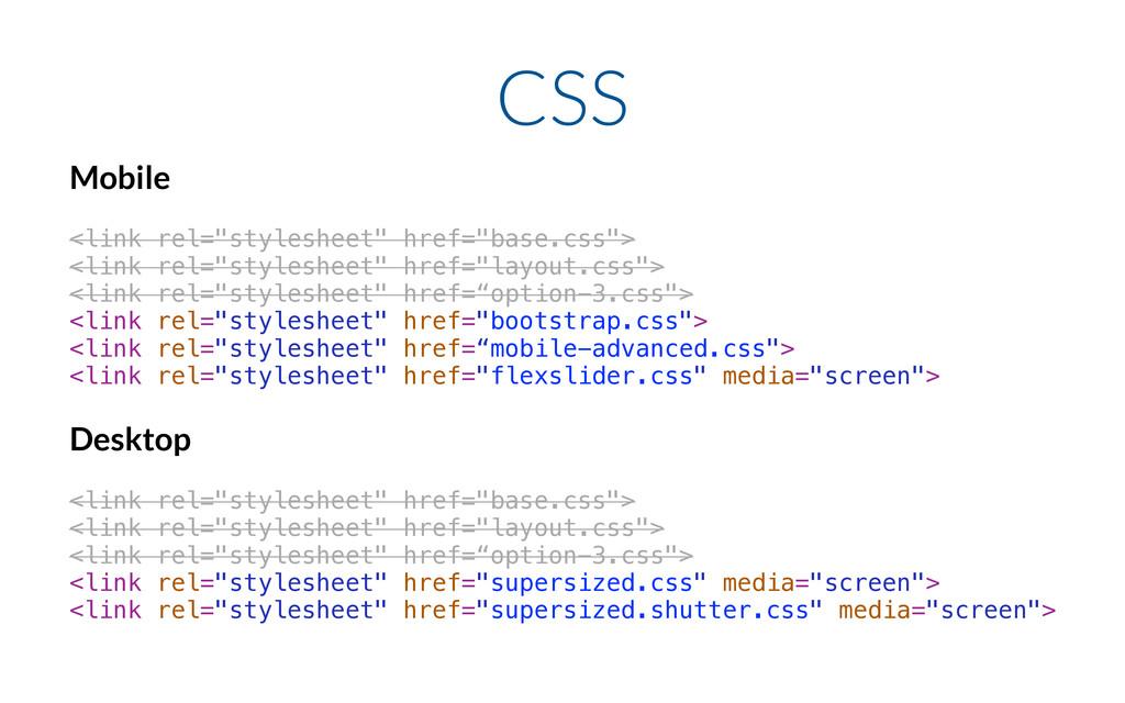 "CSS Mobile ! <link rel=""stylesheet"" href=""base...."