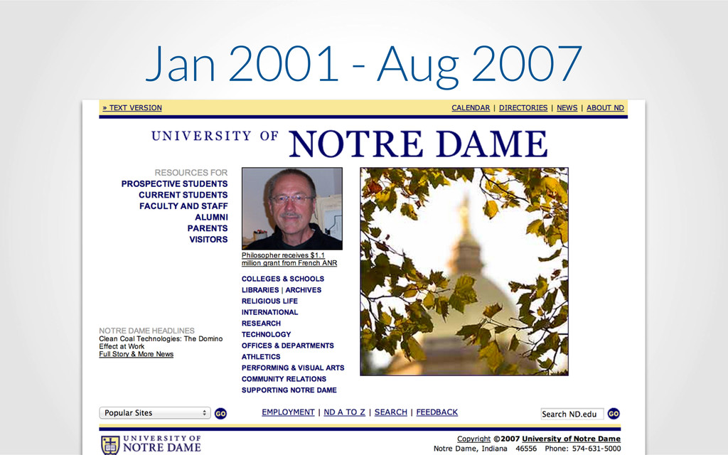Jan 2001 - Aug 2007