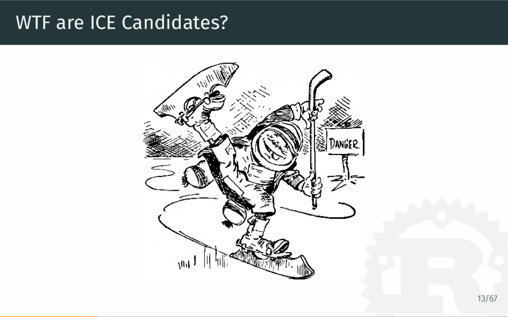 WTF are ICE Candidates? 13/67