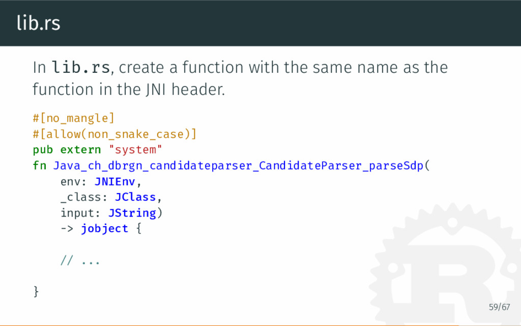 lib.rs In lib.rs, create a function with the sa...