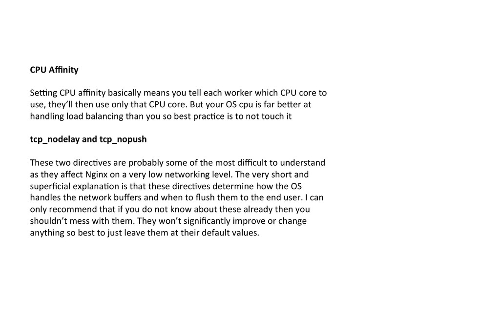 CPU Affinity    Sewng CPU affinity...