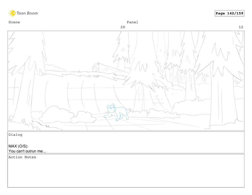 Scene 26 Panel 12 Dialog MAX (O/S): You can't o...