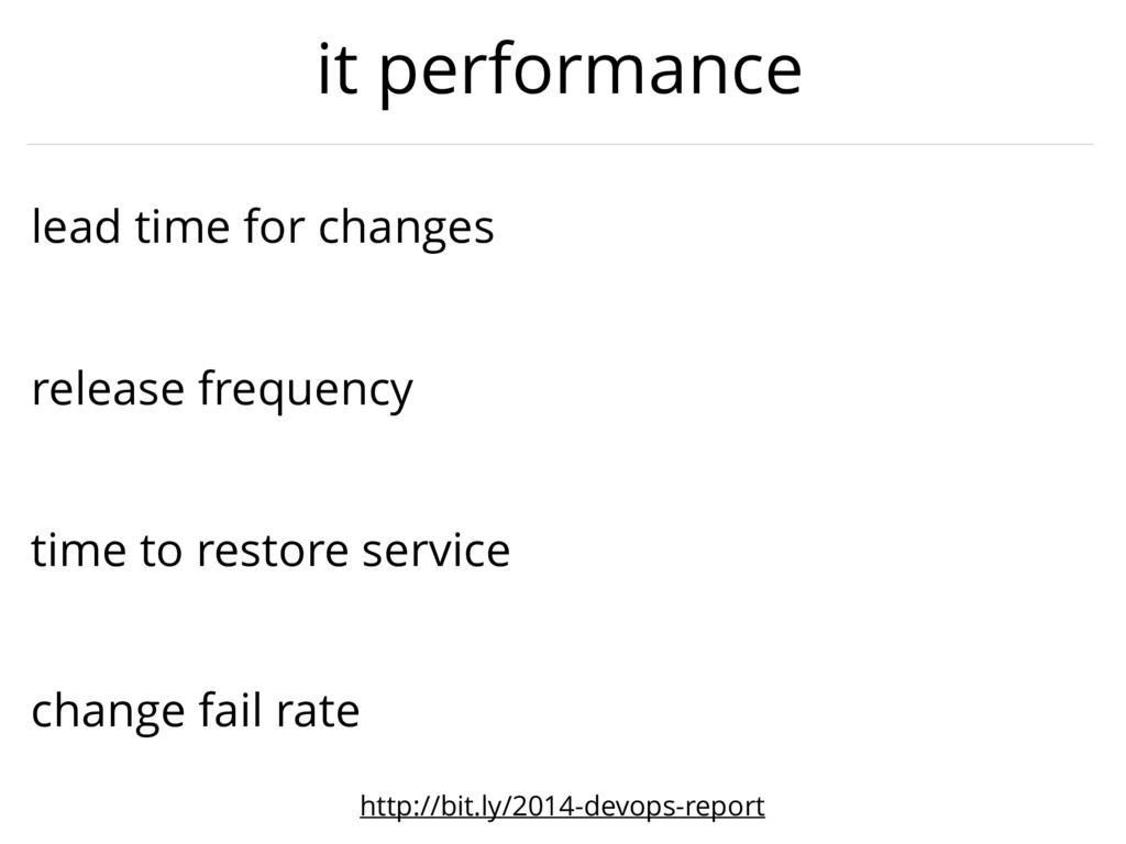 time to restore service lead time for changes r...