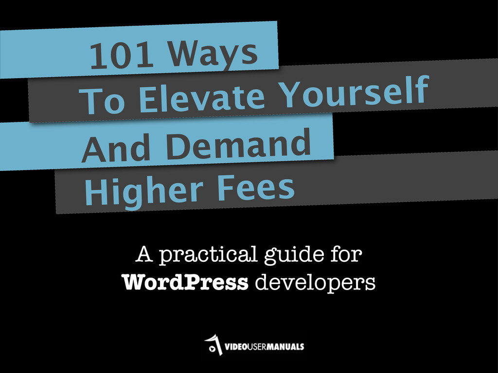Higher Fees And Demand To Elevate Yourself 101 ...