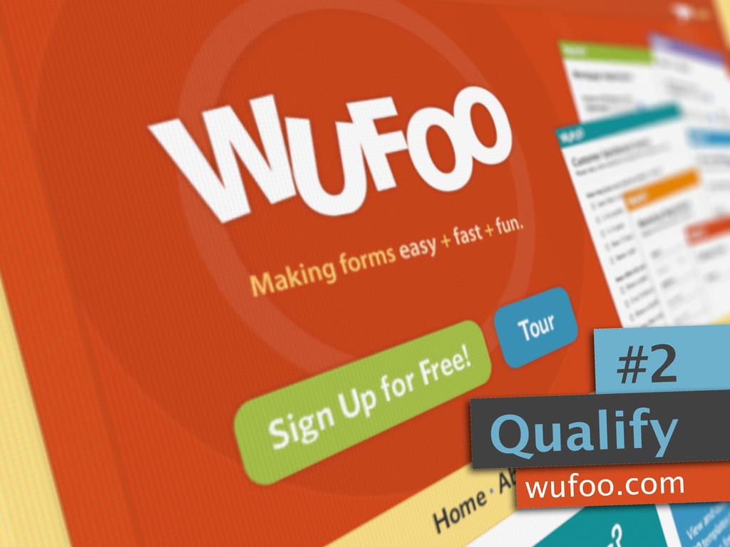 Qualify #2 wufoo.com