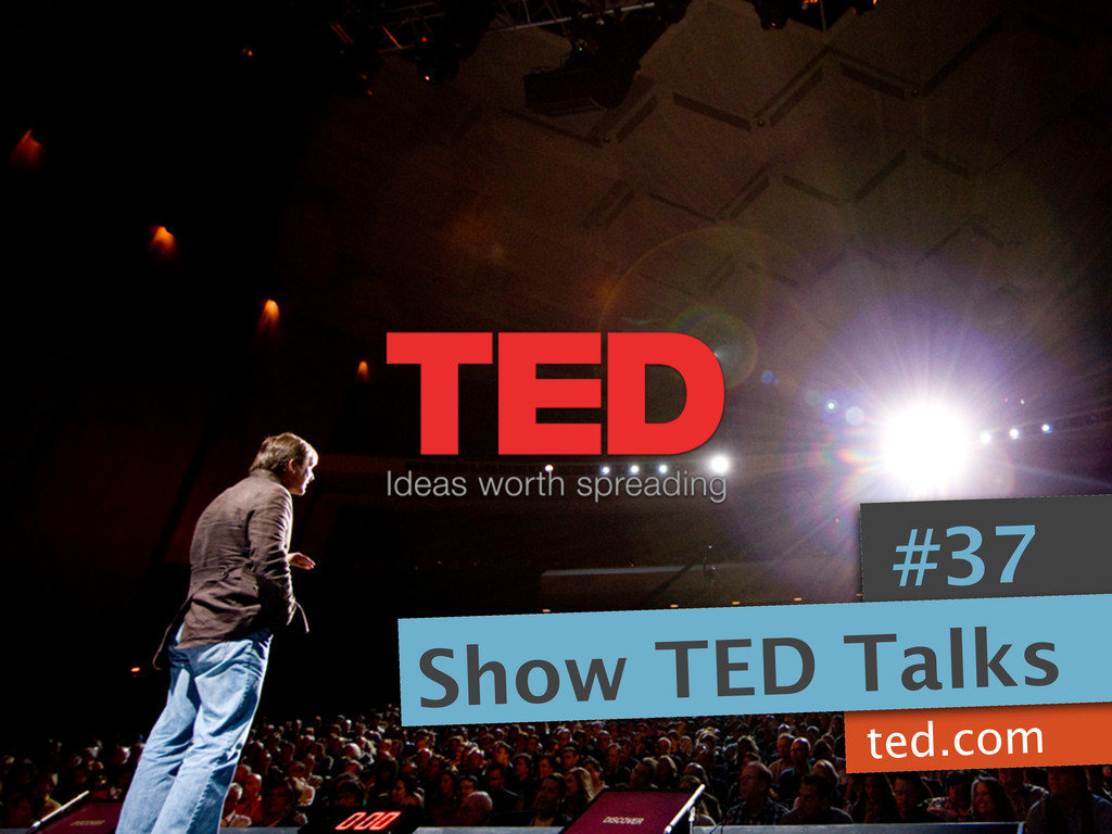 ted.com #37 Show TED Talks